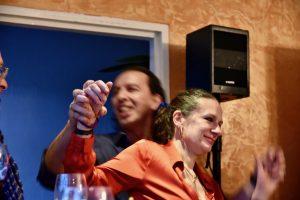 Inhaber Franco und Rossella Pizzato feiern 20 Jahre Ristorante Canal Grande